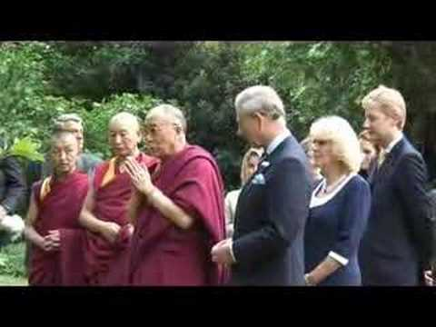 TRH welcome The Dalai Lama to Clarence House