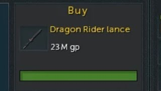 Runescape: Dragon Rider Lance Vs T90 and T85 Melee Weapons (God Wars 2)