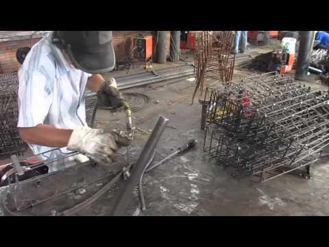 Welding wrought iron furniture - Souder les mobiliers en fer forgé