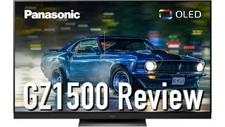 Panasonic GZ1500 4K OLED TV Review