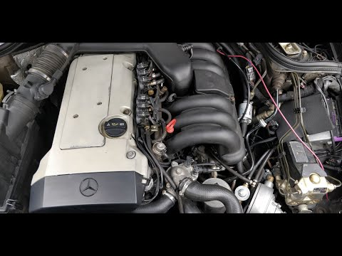 Mercedes m104 w124 e320 wiring harness throttle issue symptoms on