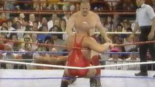 Nikolai Volkoff vs Boris Zukoff At Summerslam Fever 1990