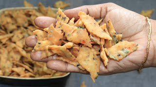 Very Easy Diwali snacks/Diamond Cuts/Maida Biscuit/Diamond  Chips/Diamond Chips Recipe in Tamil