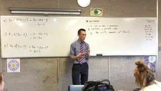Expanding and Factorising (4 of 4: What is Substitution?)