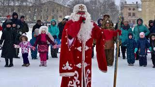 Новогодняя кутерьма в Гатчине * New Year's Bustle in Gatchina