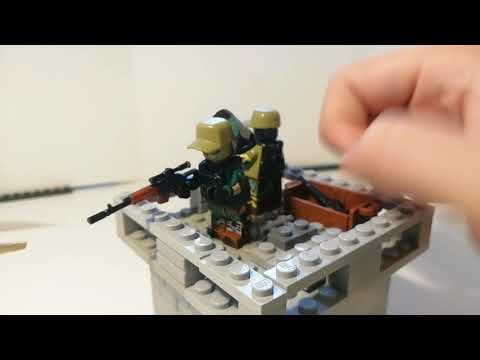Лего самоделка #30 оборона стены.