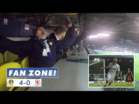"""""""TAKE A BOW!"""" FAN ZONE: Leeds United 4-0 Middlesbrough"""