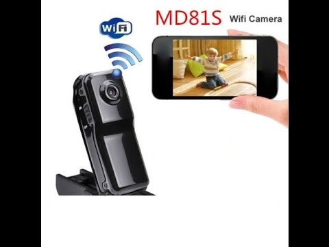 The Md81s Wifi Spy Tiny Camera Setup Instructions And Review Youtube