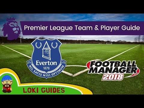 FM18 - Everton Team & Player Guide - Football Manager 2018