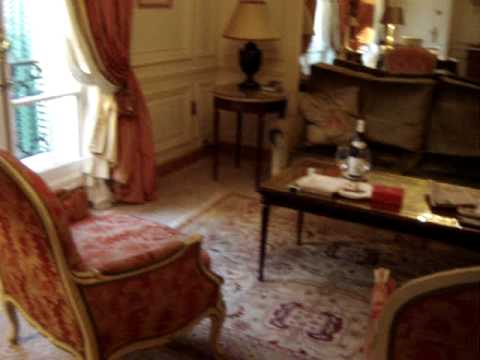 Hotel Plaza Athenee Paris - Apartment 544/45 Daytime Walkthrough