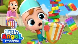 Ммм Мороженое Песенка Про Еду Развивающие Мультики Для Детей Little Angel Русский