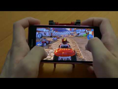 Sony Xperia ZR gaming test in 2017