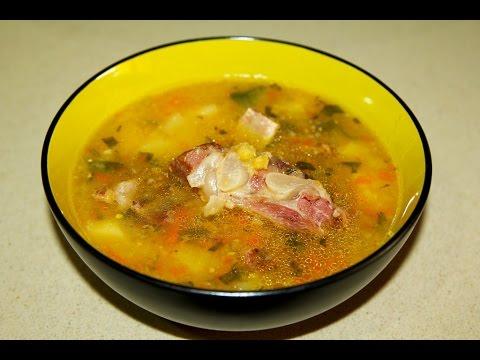 суп гороховый обычный рецепт