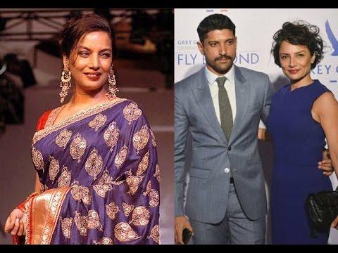 Shabana Azmi Reacts On Farhan-Adhuna Divorce | Shabana Azmi