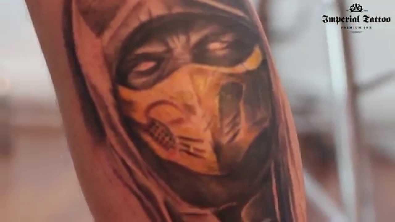 Speak Povestea Tatuajului Facut La Imperial Tattoo Scorpion