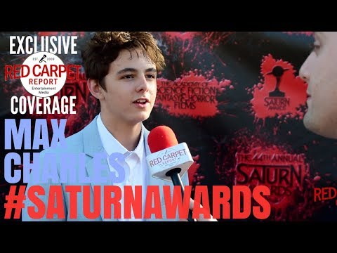 Max Charles #TheStrain interviewed at the 44th Annual Saturn Awards Red Carpet #SaturnAwards