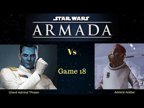 Star Wars Armada - Fleet Battle 18 - Wave 7