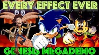 Amazing 16-bit Effects from every GENESIS game we've ever made. (Remaster at 60fps)