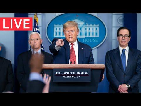 ? LIVE: President Trump's Coronavirus Taskforce URGENT News Conference from the White House