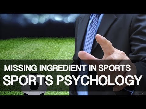 Is Sports Psychology The Missing Ingredient Or Is There More?
