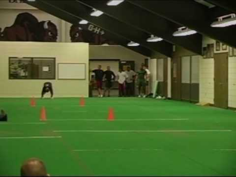 Kole Heckendorf Pro Day Highlights