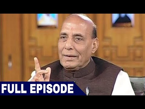 Rajnath Singh In Aap Ki Adalat (Full Interview)