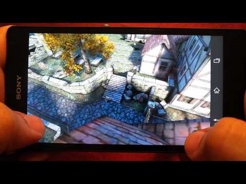 BEST GRAPHICS GAMES ON SONY XPERIA Z GAMEPLAY 3