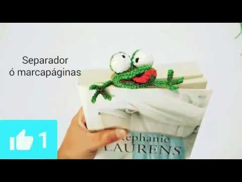 Amigurumi Crochet Bunny Bookmark -