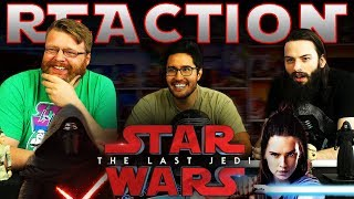 Star Wars: The Last Jedi Behind The Scenes REACTION!!