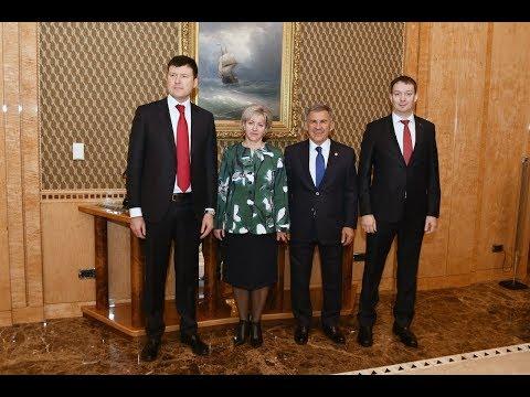 Рустам Минниханов встретился с зампредом ЦБ РФ
