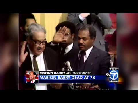 The death of Marion Barry