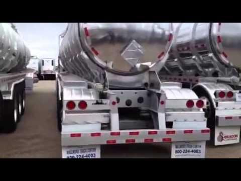 Dragon 11,000 gallon crude oil trailer walk around, Wallwork Truck Center, Fargo, ND, For Sale
