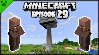 The Minecraft IRON FARM Factory! | Python's World (Minecraft Survival Let's Play) | Episode 29