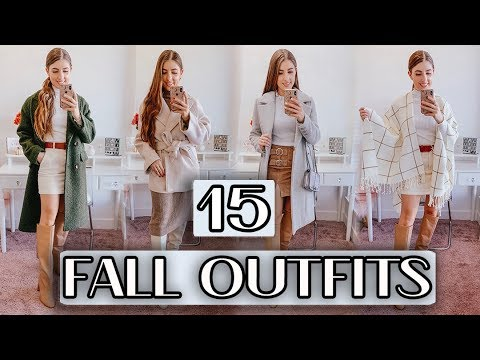 [VIDEO] - 15 Fall Outfit Ideas To Wear NOW! *Fall Fashion Edit DAY 7* 1