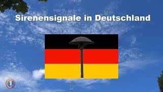 Bedeutung der aktuellen Sirenensignale in Deutschland thumbnail
