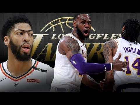 How is it going down? Anthony Davis to the Lakers