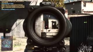 Battlefield 4 Gameplay/Action! Recorder Test