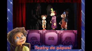 -Pinocchio -Teatru de papusi si marionete  pentru copii- Momente muzicale din spectacol- Povesti-