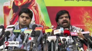 T. Rajendar at Idhu Namma Aalu Movie Press Meet