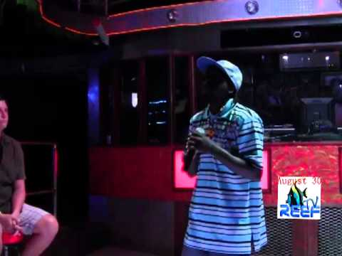 Karaoke Wk 4, pt 2 LIVE from Jaguar's Temple, (San Pedro, Belize).mp4