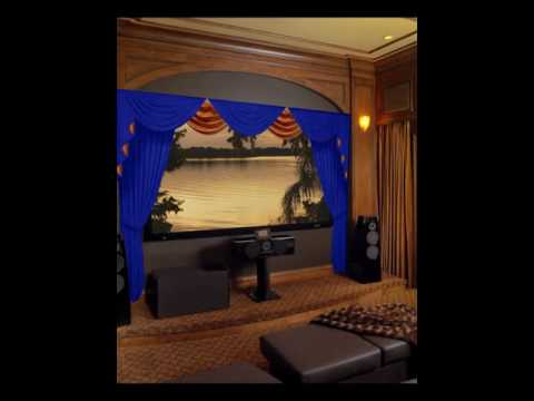 Home Theater Curtains & Stage Drapes At Velvetdrapery.com