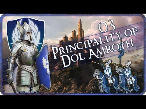 UMBAR INVASION - Principality of Dol Amroth - Third Age Total War: Divide and Conquer - Ep.03!