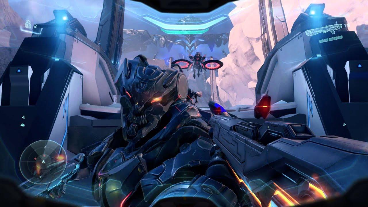 Halo 5 Guardians Mission 15 Fireteam Osiris Battle The