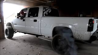 Crazy burnout in my GARAGE!