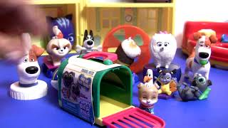 Mcdonalds Happy Meal SurpriseThe Secret Life of Pets 2 Complete set toys review