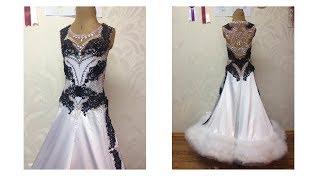 видео Платья для бальных танцев стандарт