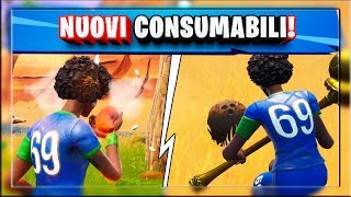 GAMEPLAY NEW CONSUMABLE SAPERS AND COCCO NOCE! (fortnite season 8 patch 8.20)