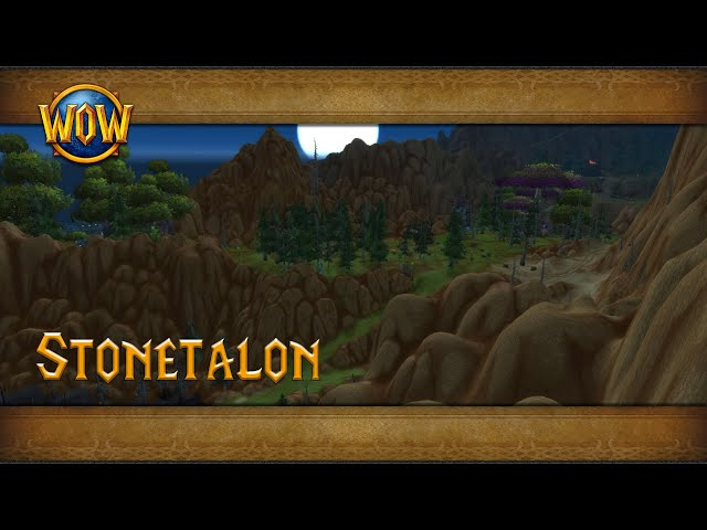 Stonetalon Mountains Ambience Azeroth World Tour