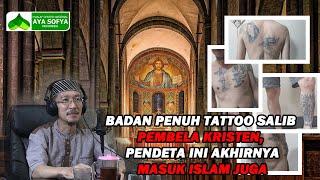 Download lagu Badan Penuh Tattoo Salib Pembela Kristen, Pendeta Ini Masuk Islam Juga