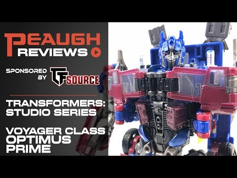 Video Review: Transformers Studio Series - Voyager OPTIMUS PRIME